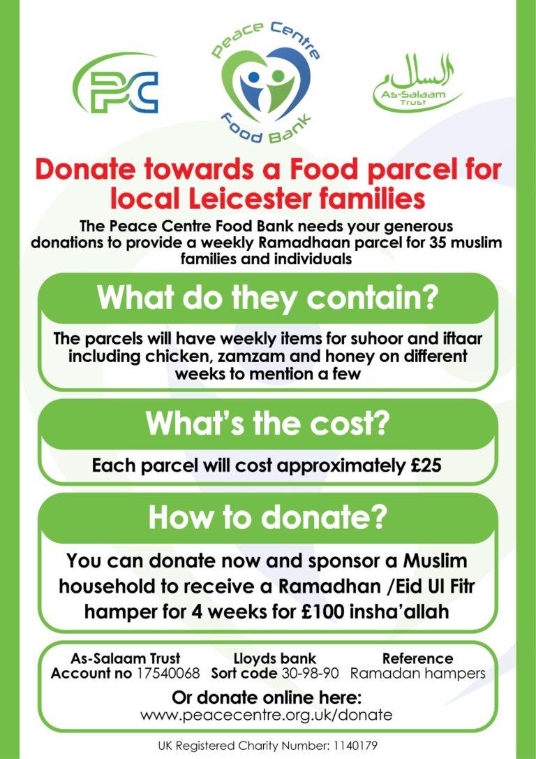 PC Foodbank poster 2