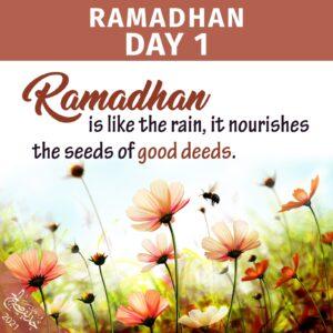 Ramadhan 2021 - day 1