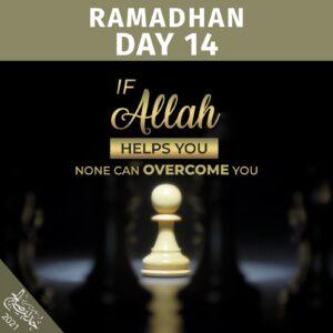 Ramadhan 2021- day 14
