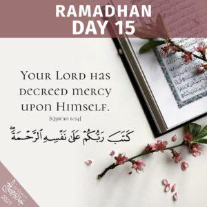 Ramadhan 2021- day 15