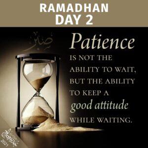 Ramadhan 2021 - day 2