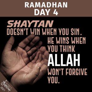 Ramadhan 2021 - day 4