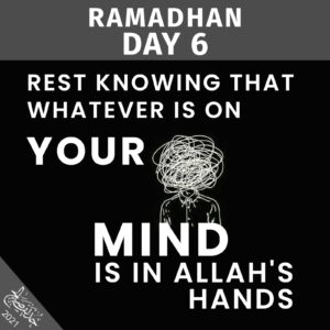 Ramadhan 2021 - day 6