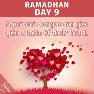 Ramadhan 2021- day 9