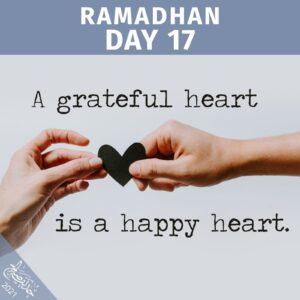 Ramadhaan 2021 day 17