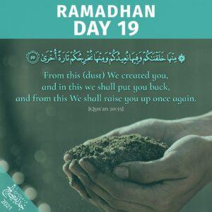 Ramadhaan 2021 day 19