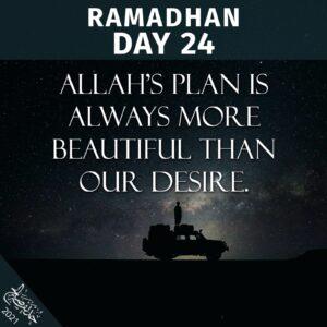Ramadhaan 2021 - day 24