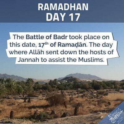 Ramadan 17