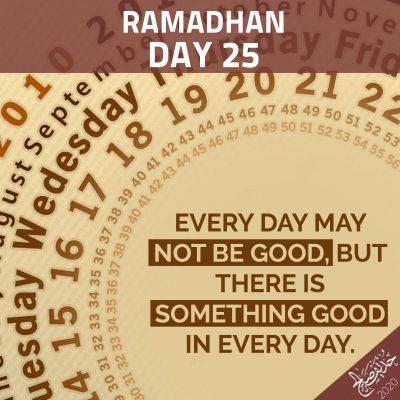 Ramadan 25