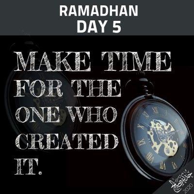 Ramadan Day 5.1